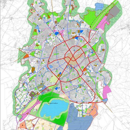 طرح جامع شهر اردبیل